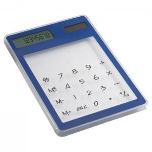 Solární kalkulačka, modrá