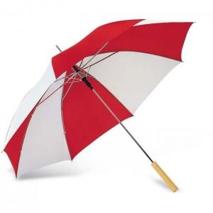 Deštník, průměr 116 cm, červený