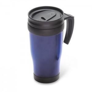 Termohrnek - plast, modrý