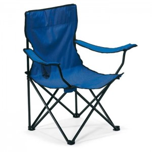 Židle na kemping, modrá