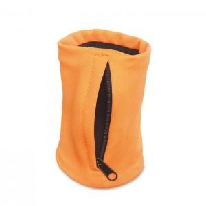 Peněženka na zápěstí, oranžová