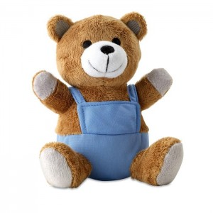 Plyšový medvídek, modrý