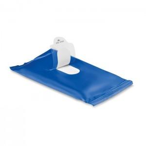 Vlhčené ubrousky, modrá