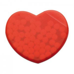Krabička s mentolkami, 12 gr, červená