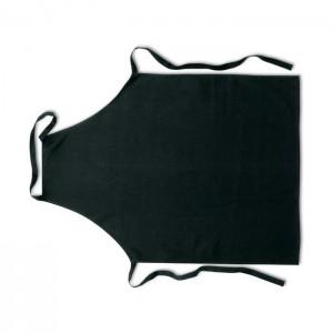 Kuchyňská bavlněná zástěra, černá