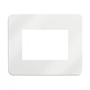 Podložka pod myš s místem pro fotografii 10x15, bílá
