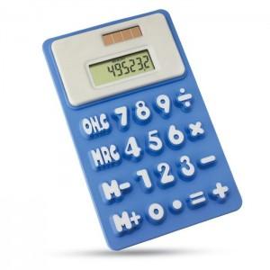 Ohebná kalkulačka, modrá