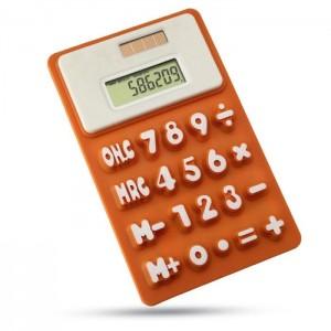 Ohebná kalkulačka, oranžová