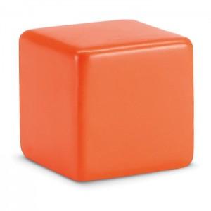 Antistresová kostka, oranžová