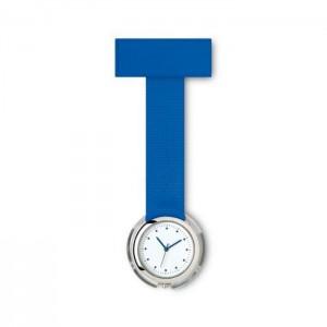 Analogové hodinky pro zdravotní sestry, modrá