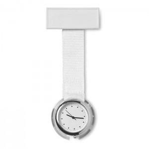 Analogové hodinky pro zdravotní sestry, bílá