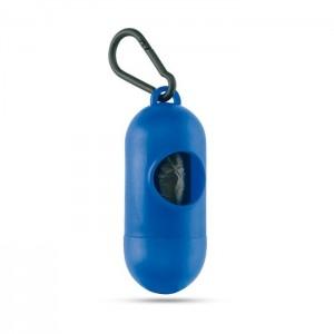 Zásobník s 10 PE sáčky, modrá