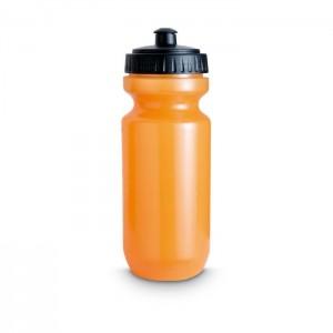 Plastová sportovní láhev, oranžová