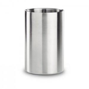 Nerezový chladič vína, stříbrná