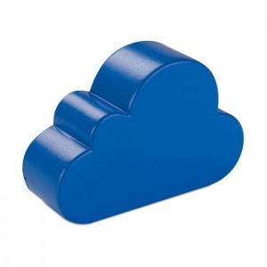 Anti-stres ve tvaru mraků, modrá