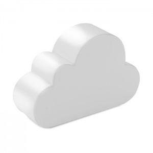 Anti-stres ve tvaru mraků, bílá