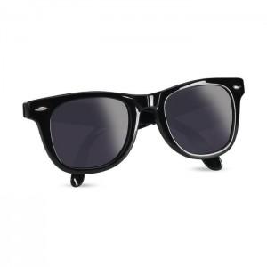 Skládací sluneční brýle, černá