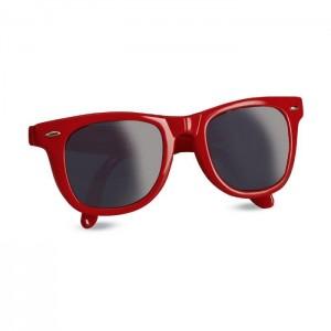 Skládací sluneční brýle, červená