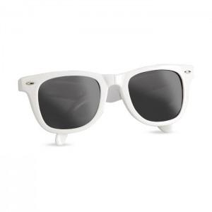 Skládací sluneční brýle, bílá