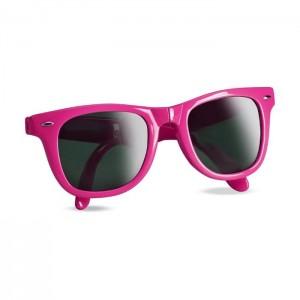 Skládací sluneční brýle, růžová