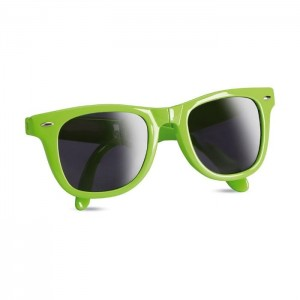 Skládací sluneční brýle, světle zelená