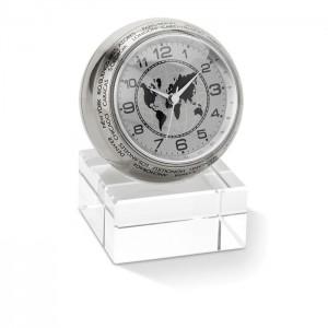 Stolní hodiny, stříbrná