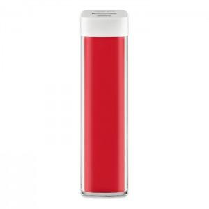 Power banka 2 400 mAh, červená