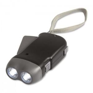 Dynamo LED svítilna, černá