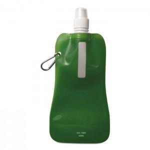 Skládací láhev na vodu, zelená