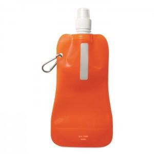 Skládací láhev na vodu, oranžová