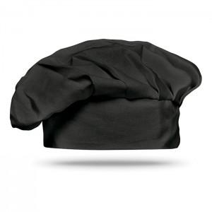 Kuchařská čepice, černá