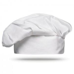 Kuchařská čepice, bílá