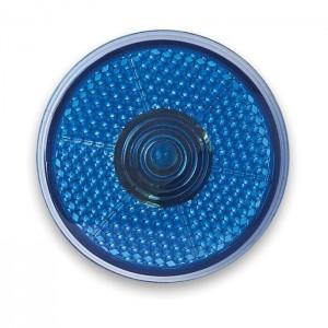 Blikající LED světlo, modrá