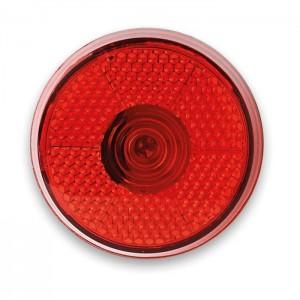 Blikající LED světlo, červená