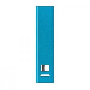 Hliníková power banka, modrá