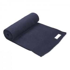 Pletená šála, modrá