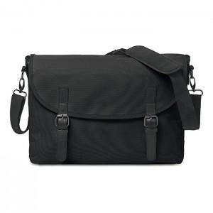 """Taška na doklady s kapsou na 15"""" notebook, černá"""