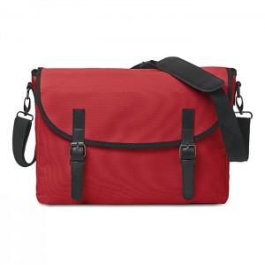"""Taška na doklady s kapsou na 15"""" notebook, červená"""
