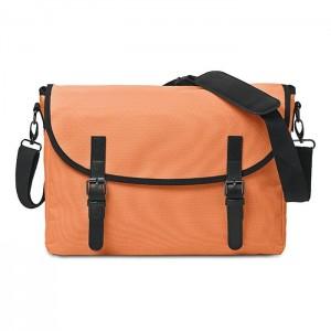 """Taška na doklady s kapsou na 15"""" notebook, oranžová"""