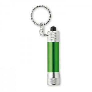 Klíčenka se LED svítilnou, zelená