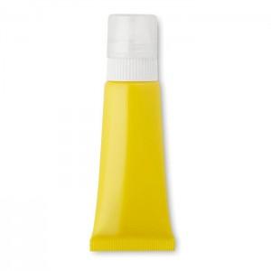 Balzám na rty a opalovací krém, žlutá