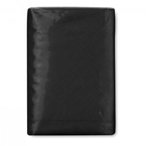 Papírové kapesníčky, černá