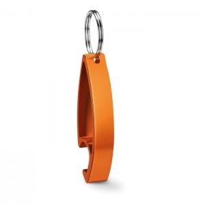 Klíčenka s otvírákem, oranžová