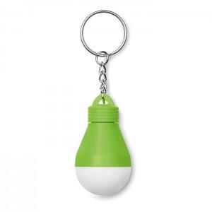 Klíčenka se svítilnou, světle zelená