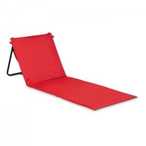 Plážová podložka a taška, červená