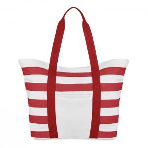 Plážová taška, červená