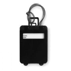 Jmenovka na zavazadlo, černá