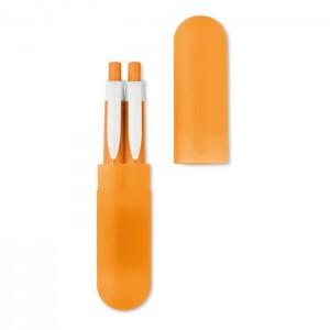 Sada propisky a mikrotužky, oranžová