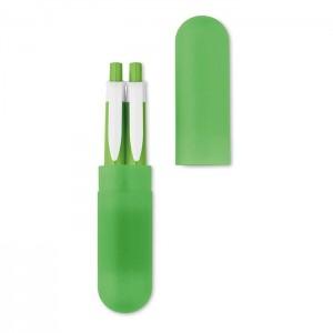 Sada propisky a mikrotužky, světle zelená