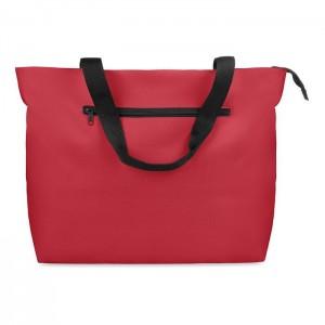 Velká plážová taška, červená